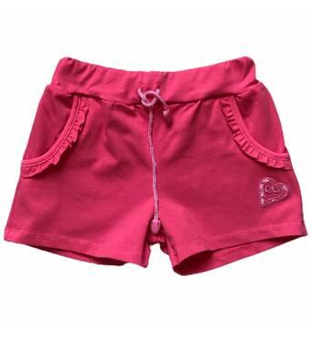 Шорты с карманами и вышивкой для для девочки