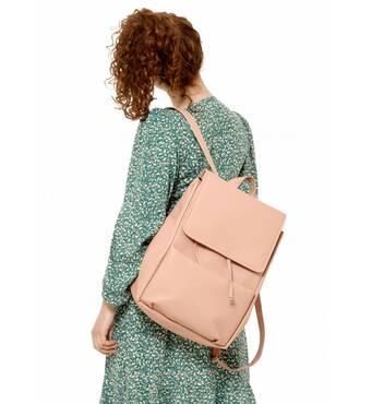 Жіночий рюкзак Sambag Loft LQN пудра