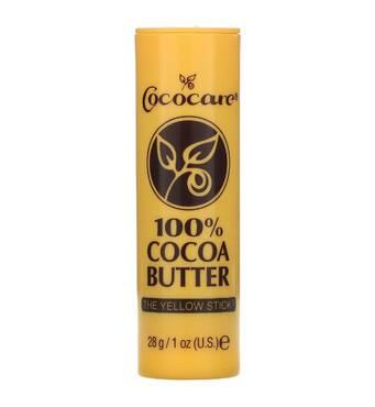 Cococare, 100%-е масло какао, Жовтий олівець, 1 унція (28 г)