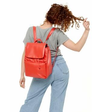 Жіночий рюкзак Sambag Loft BQN червоний