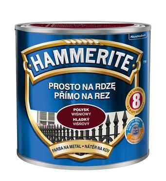 Фарба Hammerite глянцева вишнева 0,7л.