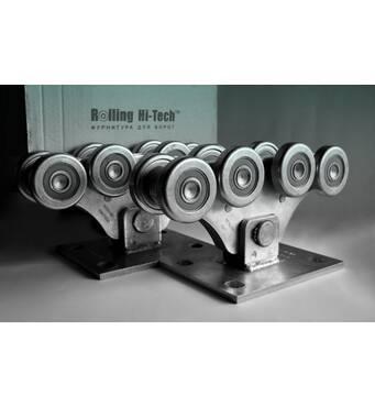 Фурнітура для відкатних воріт: Посилений комплект до 800кг(металеві ролики)