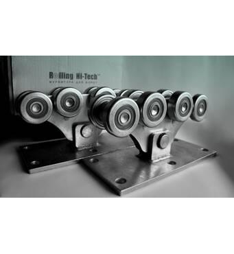 Фурнітура для відкатних воріт: Посилений комплект до 1000кг(металеві ролики)