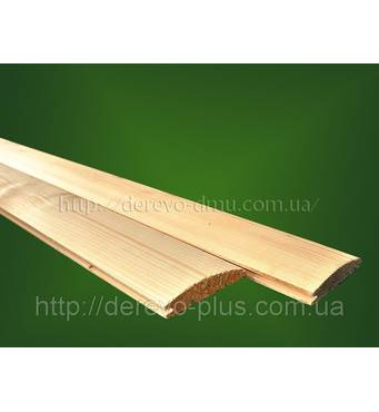 Блок-хаус ялина (смерека) 85мм, 0.5-0.9м