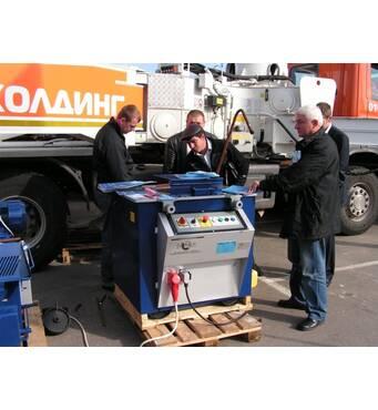 Комбинированный станок для изгиба и рубки арматуры ТР 38/45