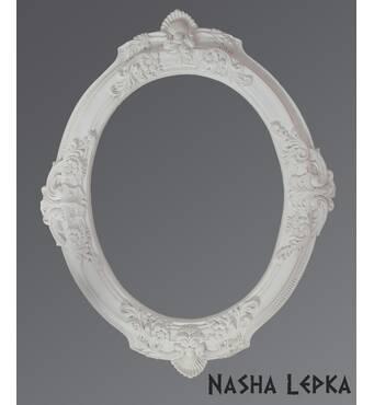 Ексклюзивні рами для дзеркала (гіпс) Об/001