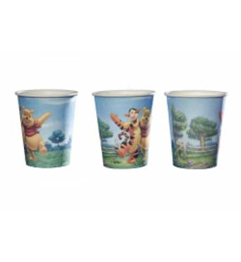 Одноразові картонні стаканчики Winie the Pooh
