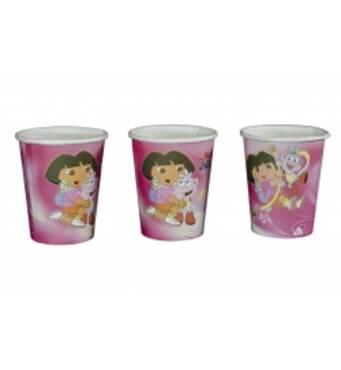 Одноразові картонні стаканчики Dora The Explorer
