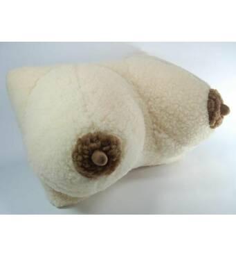 Подушка-грудь (овчина). Высокое качество. Купить подушку.