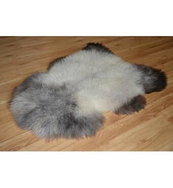 Овеча шкура - овечі шкури - шкура вівці (попелястого кольору)