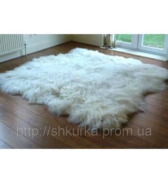 Килим з 6-х овечих шкур