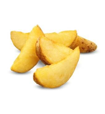 Картопляні дольки зі скоринкою