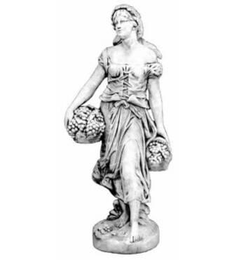 Женщина с виноградной корзиной Арт. №240