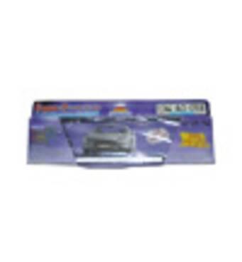 Рамка номерного знаку GUARD Silver/White PA - 0123-02 - S