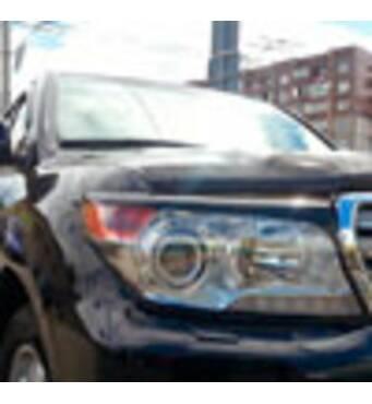 Защитные накладки EGR TOYOTA LC-200 2012+ 239340