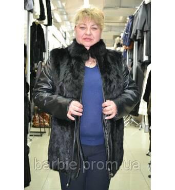 Куртка з хутра кролика 0042