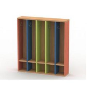 Вешалка для полотенец (5 секций) ВП-1