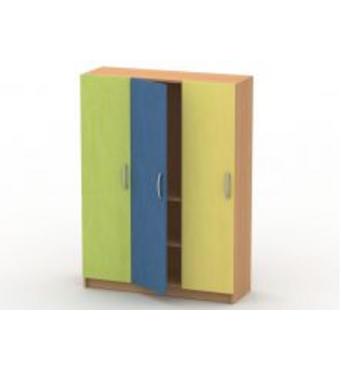 Шкаф для белья (3 секции, 2 полки) ШБ-1