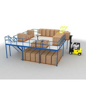 Мезонины для хранения и комплектации заказов SBA/SBF