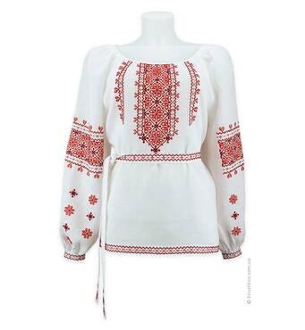 Сорочка-вишиванка з  довгим рукавом