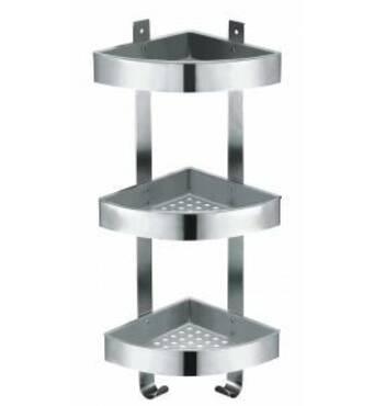 Полочки для ванной серии Angolare Avial Полочка тройная угловая. ANGOLARE. 29970