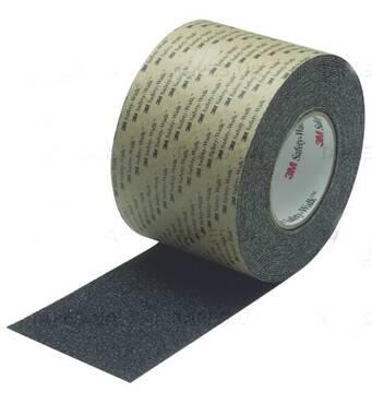 Противоскользящие покрытия (лента) 3M™.  Safety-Walk™ Avial Противоскользящая лента 3M Safety-Walk  710 грубая зернистость, черная, 25 мм.