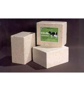Соль для животноводства (в брикетах)