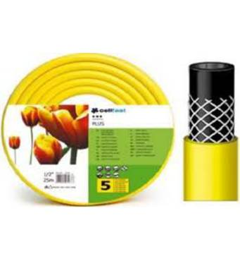 Шланг поливальний д=1/2м жовтий PLUS 25м