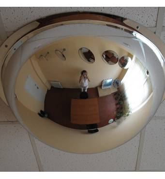 Панорамное купольное зеркало 1000/360