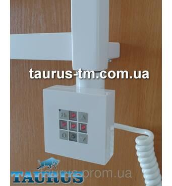 Квадратний білий ЭЛЕКТРОТЭН KTX2 з управлінням   таймер в полотенцесушилки (Польща). Потужність від 120Вт.