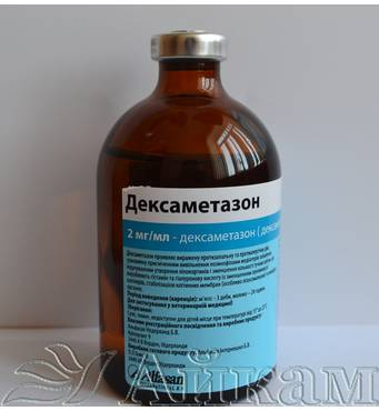Дексаметазон 2 мг/мл ветеринарний препарат