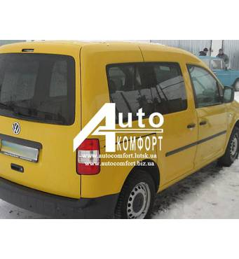 Задний салон, правое окно (original/в паз) на автомобиль VW Caddy 04- (Фольксваген Кадди 04-)