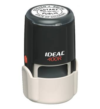 Оснастка для круглої печатки автоматична діаметр 40 мм Ideal 400R