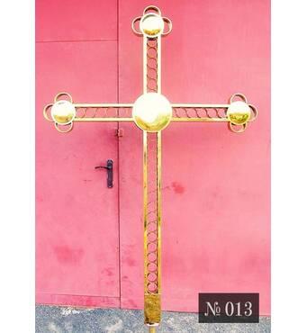 Крест накупольный № 013