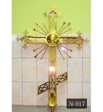 Крест накупольный № 017