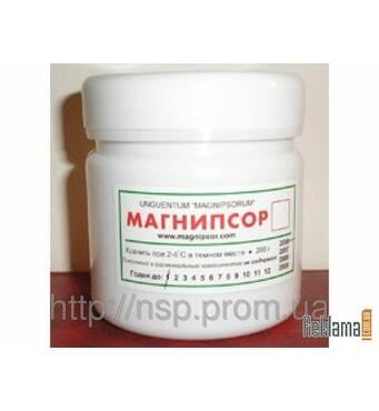 Магнипсор 200г мазь для лікування псоріазу, екземи, дерматозу