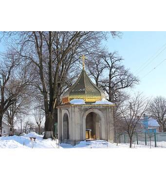 Церковний купол із золотим напиленням під замовлення