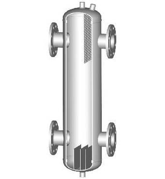 Гідравлічні стрілки HS 40/100/5,7 з різьбовим підключенням (з ізоляцією)