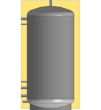 Теплоакумулятори ЕАМ-00-2000 з теплоізоляцією