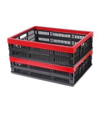 Ящик складной пластмасовый 480х350х126/60мм  (А:180А)