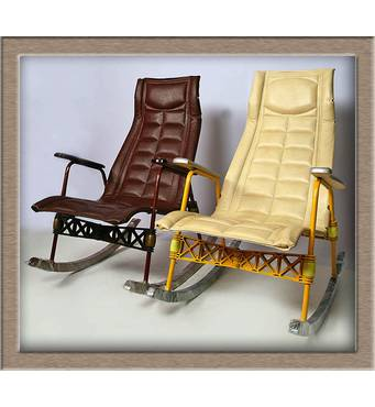 Крісло - гойдалка з лікувальною функцією (Підлокітник Стандарт)