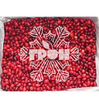 Замороженные ягоды кизил