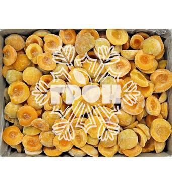 Замороженные фрукты - абрикос половинка