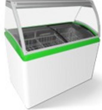 Морозильна вітрини для морозива M400 SL  Juka