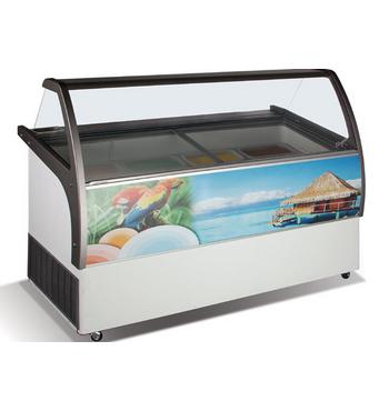 Вітрина для морозива VENUS 56 ELEGANTE CRYSTAL
