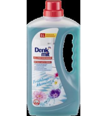 Моющее средство для пола с запахом свежести Denkmit Allzweckreiniger Frühlings-Moment 1000 мл.