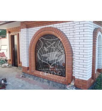 Решетки на окна ручной ковки