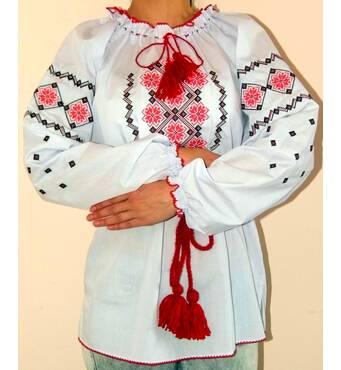 Вишиванка жіноча, орнамент, великий розмір