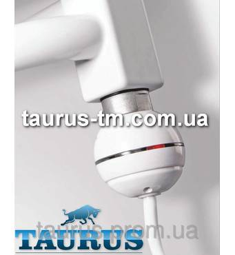 Компактний ТЭН (Польща) білий, з кнопкою живлення для полотенцесушителя (автотермостат) 200-800Вт
