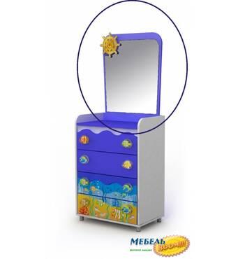 Зеркало над комодом Оd-06 BR-Оd-07-1
